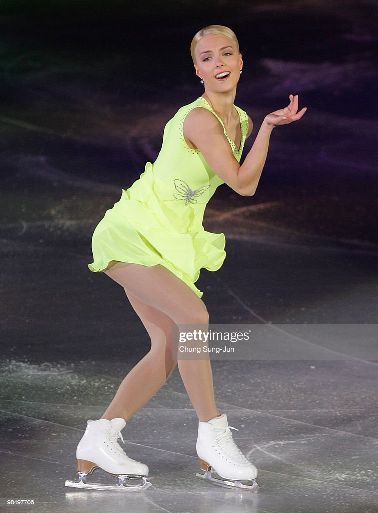 Kiira Korpi of Finland performs during Festa on Ice 2010 at Olympic gymnasium on April 16, 2010 in Seoul, South Korea.