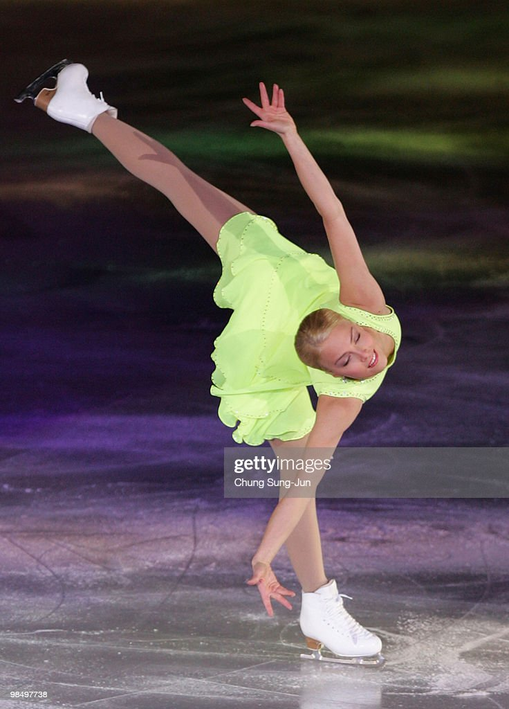 Kiira Korpi of Finland performs during Festa on Ice 2010 at Olympic gymnasium on April 16 2010 in Seoul South Korea