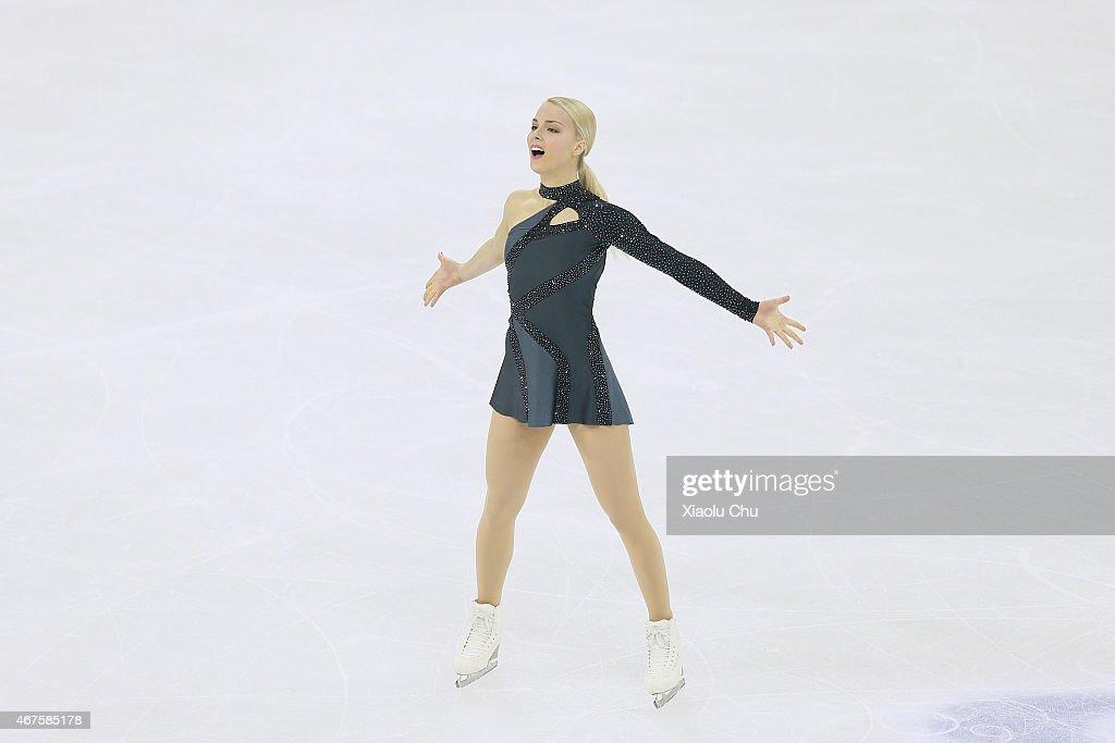 2015 Shanghai World Figure Skating Championships - Day 2