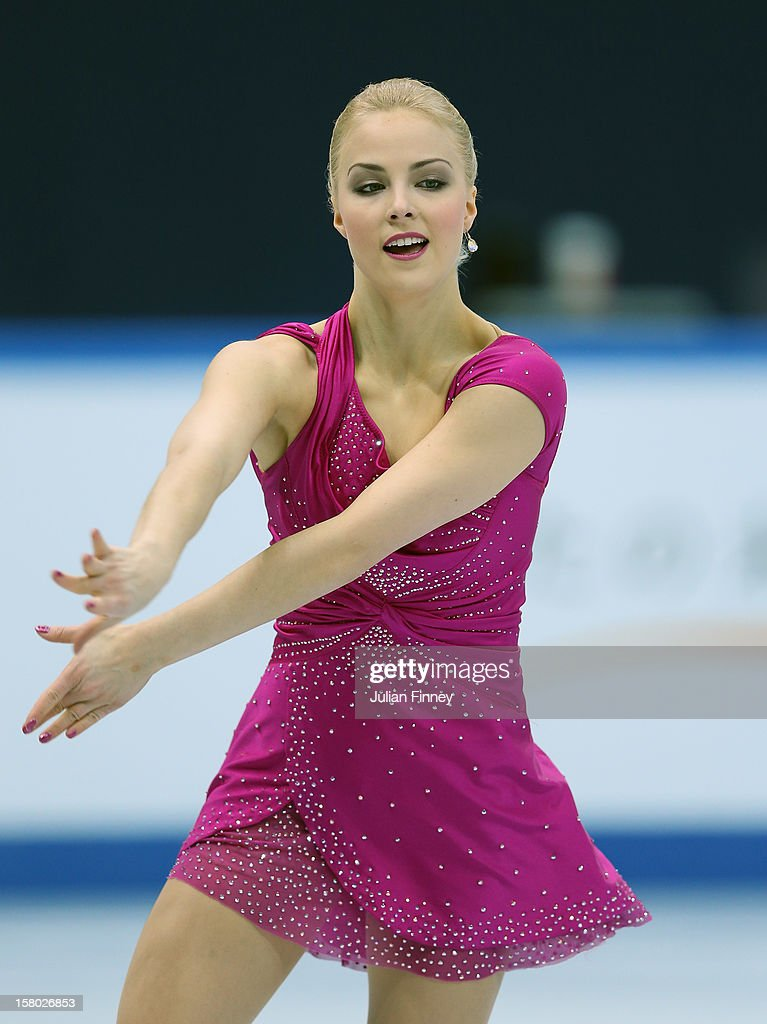 Kiira Korpi of Finland performs in the Ladies Free Skating during the Grand Prix of Figure Skating Final 2012 at the Iceberg Skating Palace on December 8, 2012 in Sochi, Russia.