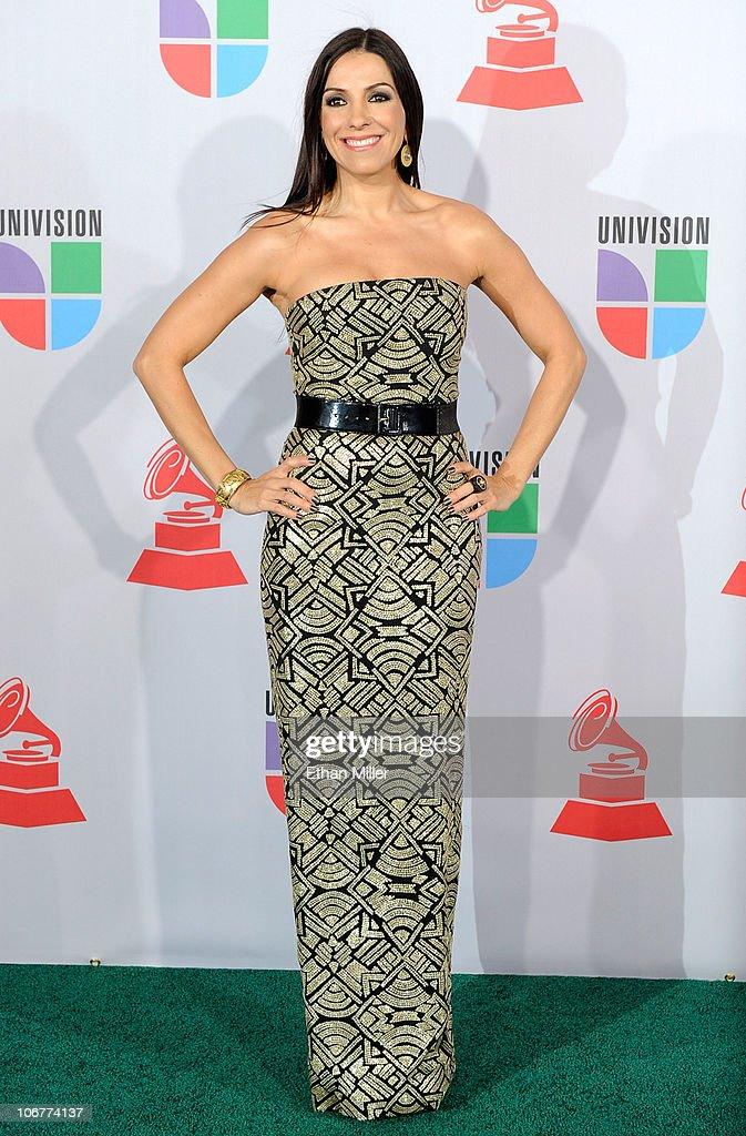 Kika Rocha arrives at the 11th annual Latin GRAMMY Awards at the Mandalay Bay Resort & Casino on November 11, 2010 in Las Vegas, Nevada.