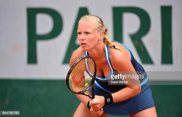 Kiki BERTENS Tennis Roland Garros 2014 Photo Dave WInter / Icon Sport