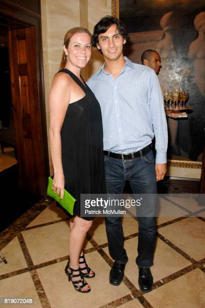 Kiki Nolan and Samuel Orgega attend POPE ANNALISA Book Release Party With Author PETER CANOVA at Private Residence on March 25 2010 in New York City