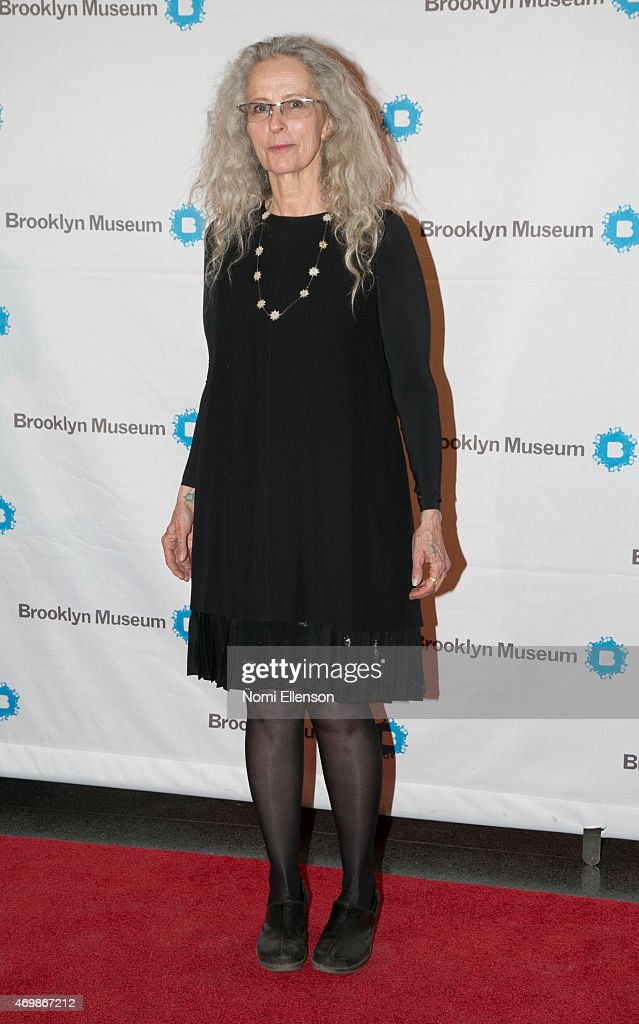 Kiki Smith attends the Brooklyn Artists Ball at Brooklyn Museum on April 15 2015 in New York City