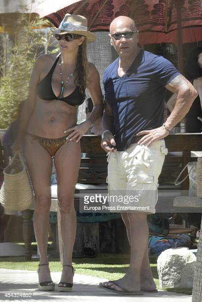 Kiko and Makoke are seen on August 10 2014 in Marbella Spain