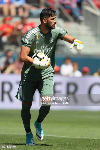 Kiko Casilla of Real Madrid during the International Champions Cup 2017 match between Real Madrid v Manchester United at Levi'a Stadium on July 23...