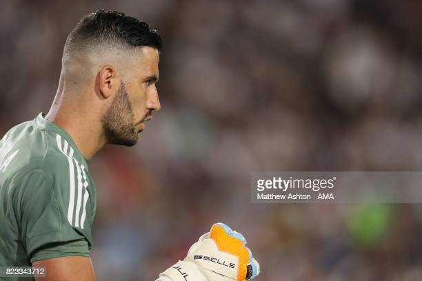 Kiko Casilla of Real Madrid during the International Champions Cup 2017 match between Manchester City and Real Madrid at Los Angeles Memorial...