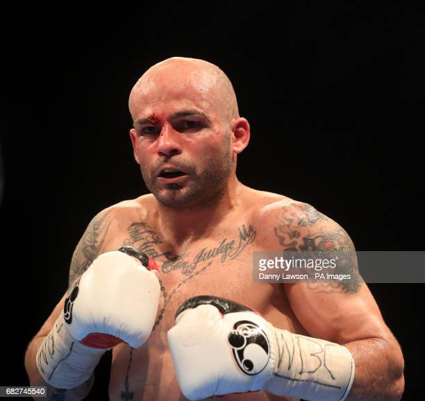 Kiko Martinez during his WBC International Featherweight Championship bout at the First Direct Arena Leeds