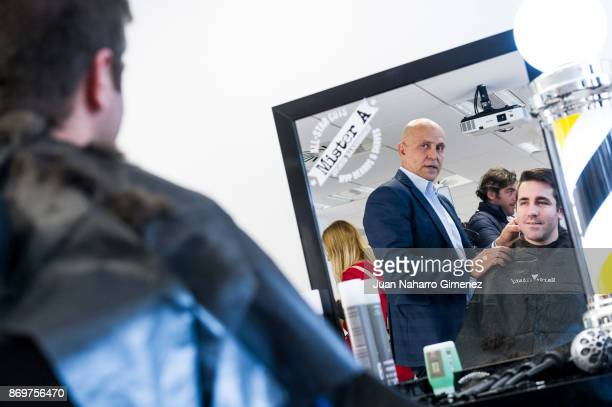 Kiko Matamoros attends 'Corto Por Ti' charity campaign presentation at MD Anderson Cancer Center Madrid on November 3 2017 in Madrid Spain
