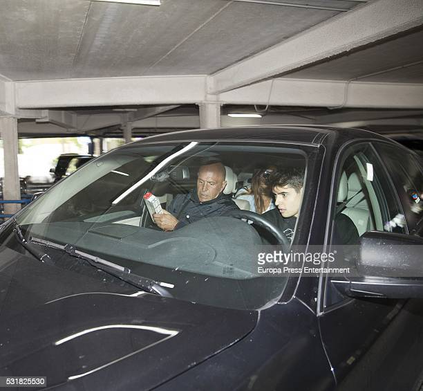 Kiko Matamoros Makoke and her son Javier Tudela are seen on May 13 2016 in Madrid