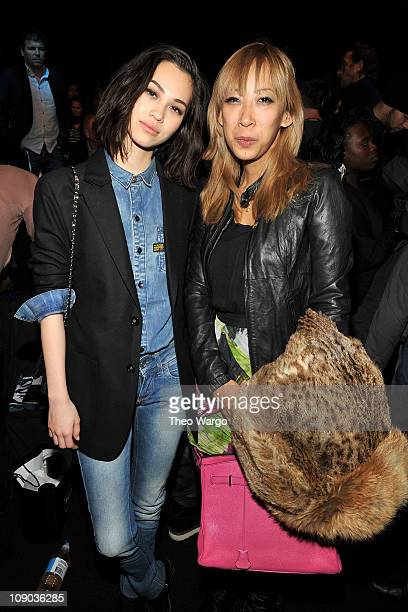 Kiko Mizuhara and Mika Ninagawa attend the NY RAW Special Edition Autumn/Winter 2011 Collection presented by GStar RAW during MercedesBenz Fashion...