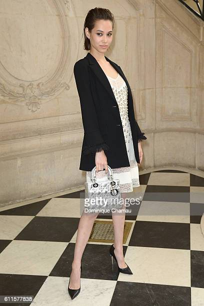 Kiko Mizuhara attends the Christian Dior show as part of the Paris Fashion Week Womenswear Spring/Summer 2017 on September 30 2016 in Paris France