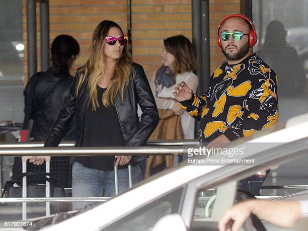 Kiko Rivera and Irene Rosales are seen on October 24 2016 in Madrid Spain