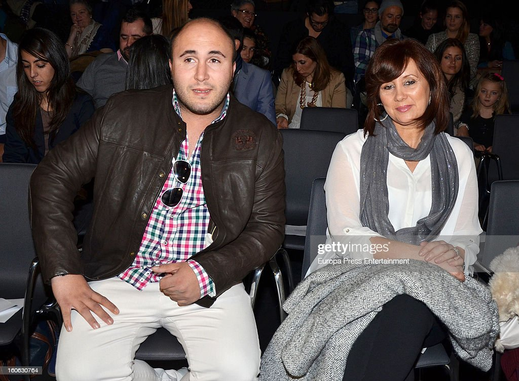 Kiko Rivera and Loli attend International Flamenco Fashion Show 'SIMOF' on February 2, 2013 in Seville, Spain.