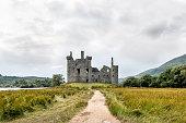 Kilchurn Castle in Scotland, UK