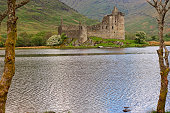 Kilchurn castle Loch Awe Argyll Butte Highlands Scotland UK