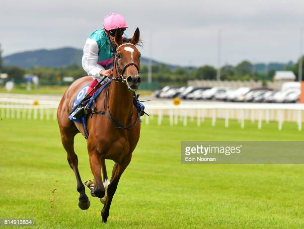 Kildare Ireland 15 July 2017 Enable with Frankie Dettori up on their way to winning the Darley Irish Oaks race during Day 1 of the Darley Irish Oaks...