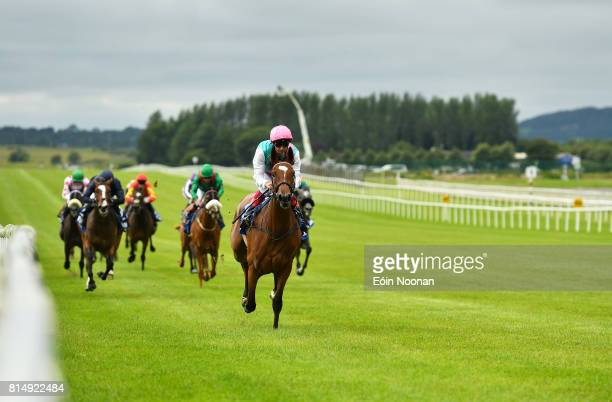 Kildare Ireland 15 July 2017 Enable with Frankie Dettori up on their way to winning the Darley Irish Oaks during Day 1 of the Darley Irish Oaks...