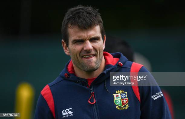 Kildare Ireland 22 May 2017 Jared Payne of British and Irish Lions during squad training at Carton House in Maynooth Co Kildare