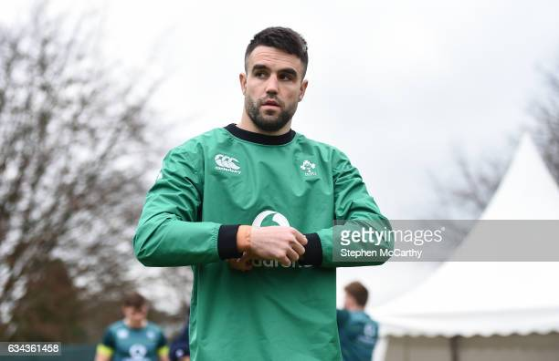 Kildare Ireland 9 February 2017 Conor Murray of Ireland during squad training at Carton House in Maynooth Co Kildare