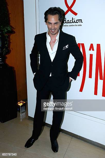 Kilian Hennessy attends the Sidaction Gala Dinner 2017 Haute Couture Spring Summer 2017 show as part of Paris Fashion Week on January 26 2017 in...