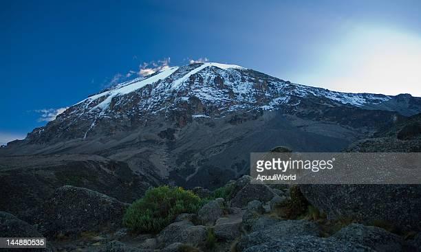 Kilimanjaro in sunrise