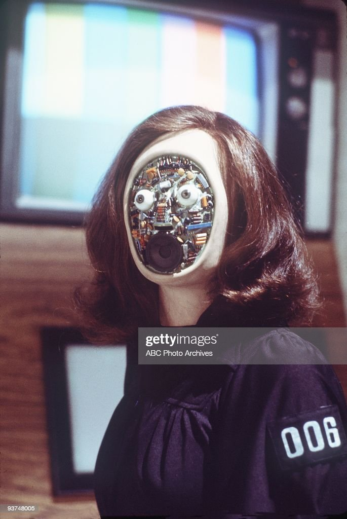 WOMAN - 'Kill Oscar' (Part 3) - Season Two - 11/3/76, In Part three of 'Kill Oscar,' Steve and Jaime became the only hope of survival when Franklin used the weather control machine to repel a military strike force from his island., Pictured: A fembot used by Dr. Franklin to kidnap Oscar Goldman.,