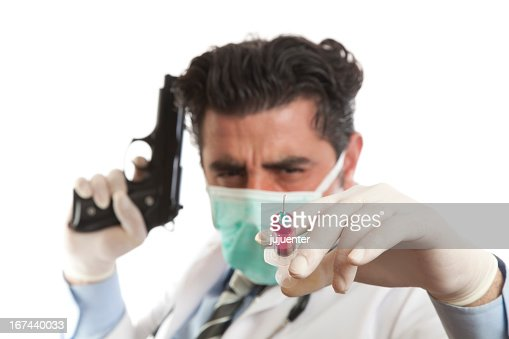 Killer doctor : Stock Photo