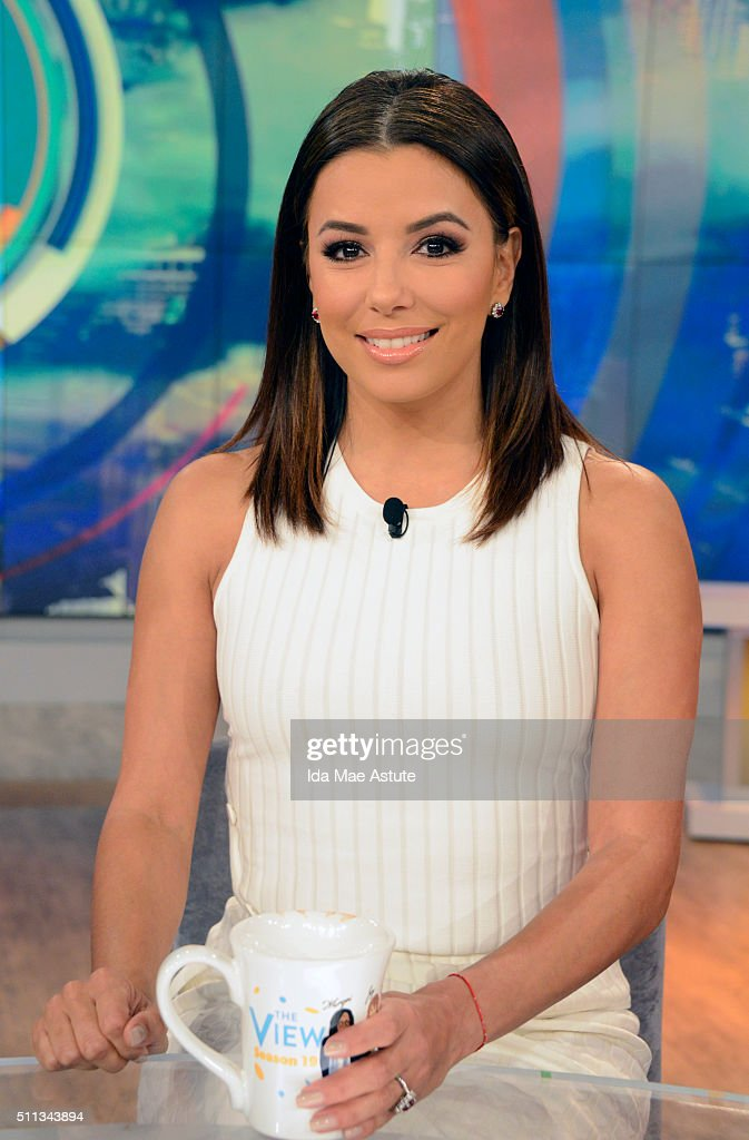 THE VIEW Killer Mike Lori Loughlin and Eva Longoria visit 'THE VIEW' 2/19/16 airing on the ABC Television Network EVA