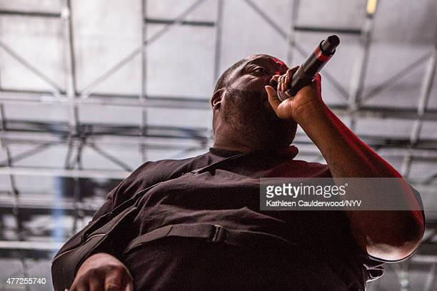 Killer Mike of Run the Jewels perform during Brooklyn's Northside Festival at 50 Kent Avenue on June 14 2015 in the Brooklyn borough of New York City