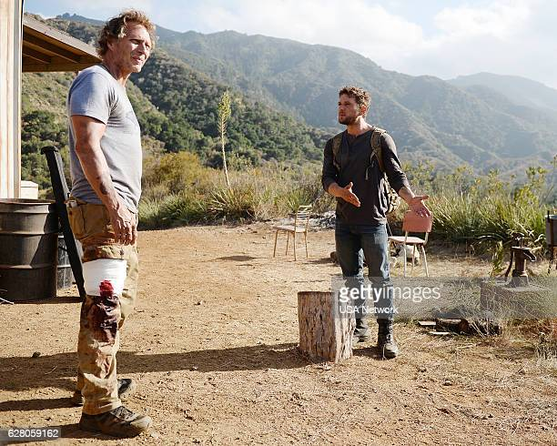 SHOOTER 'Killing Zone' Episode 106 Pictured William Fichtner as Rathford O'Brien Ryan Phillippe as Bob Lee Swagger