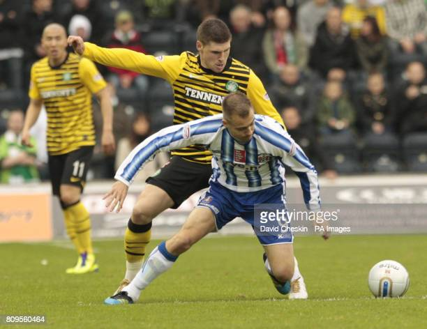Kilmarnock's Liam Kelly in action during the Clydesdale Bank Scottish Premier League match at Rugby Park Kilmarnock