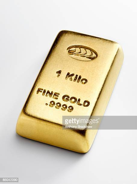 Kilo ingot of gold