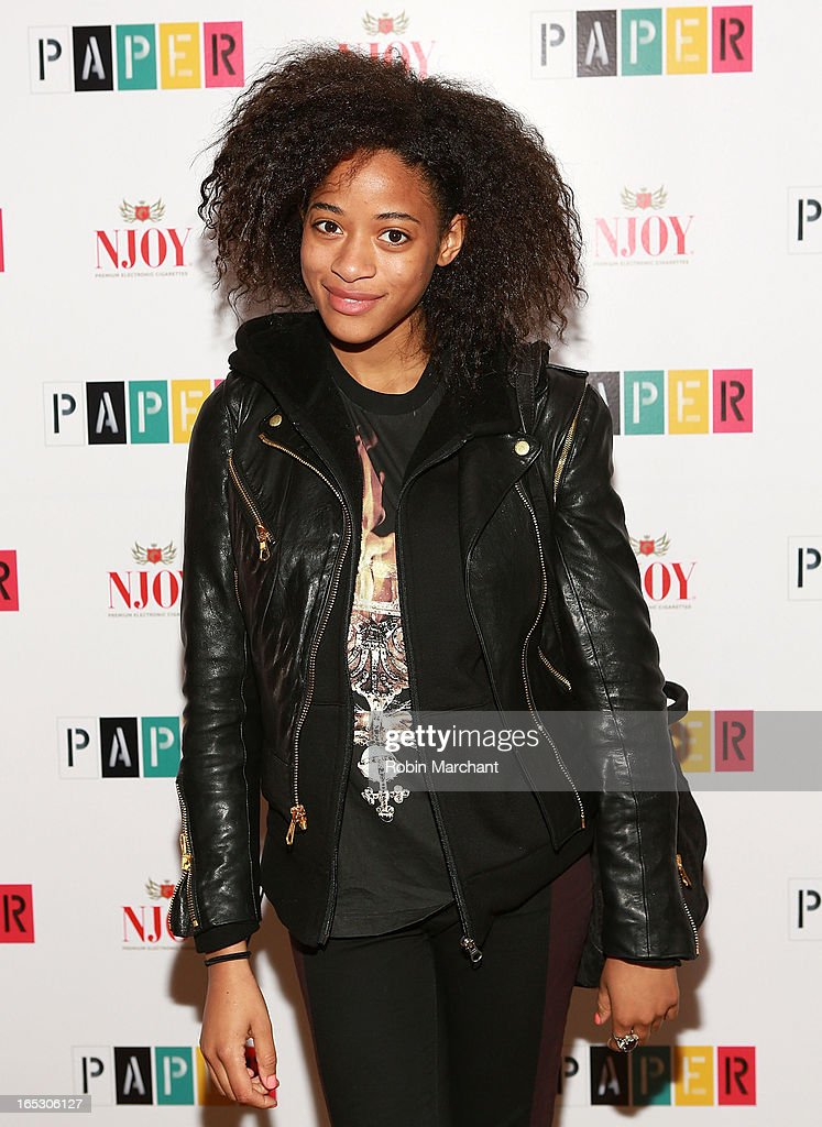 Kilo Kish attends Paper Magazine's 16th Annual Beautiful People Party at Top of The Standard Hotel on April 2, 2013 in New York City.