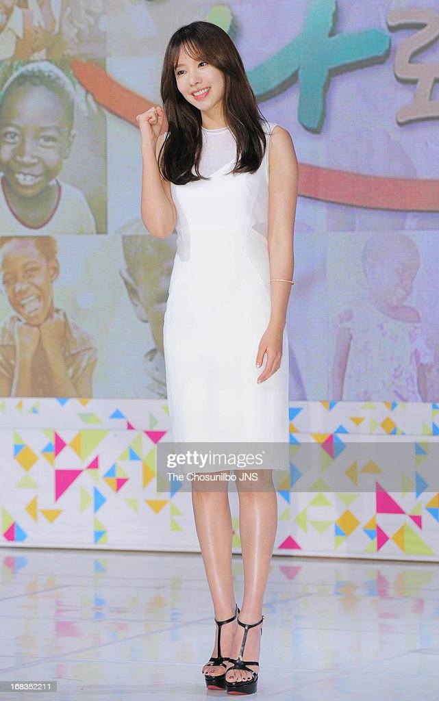 Kim A-Joong attends the '2013 Hope TV SBS' Press Conference at SBS Prism Tower on May 8, 2013 in Seoul, South Korea.