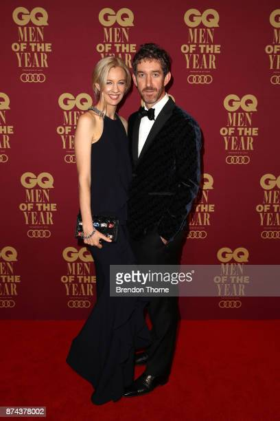 Kim and Scott Farquhar attends the GQ Men Of The Year Awards at The Star on November 15 2017 in Sydney Australia