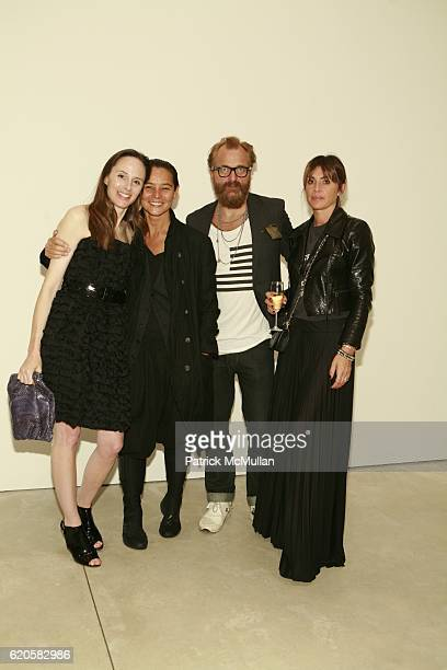 Kim Andreolli Sonja Nuttall Johan Lindberg and Marcella Lindberg attend LOUIS XIII Celebrates WALLPAPER'S Guest Editor LOUISE BOURGEOISE with HELMUT...