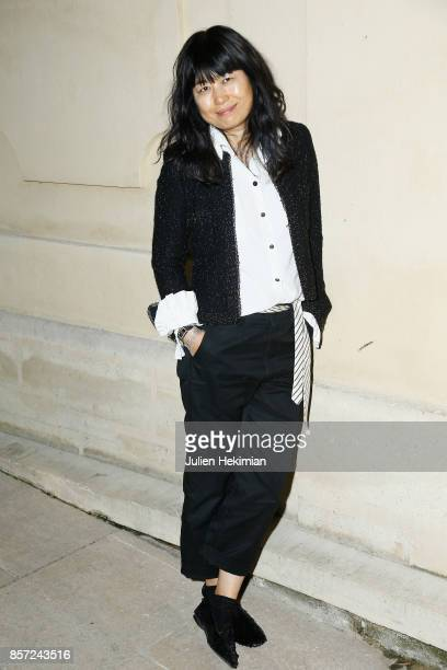 Kim attends the Chanel 'Code Coco' Watch Launch Party as part of the Paris Fashion Week Womenswear Spring/Summer 2018 on October 3 2017 in Paris...