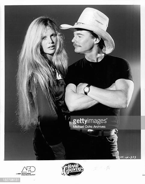 Kim Basinger and JanMichael Vincent publicity portrait for the film 'Hard Country' 1980