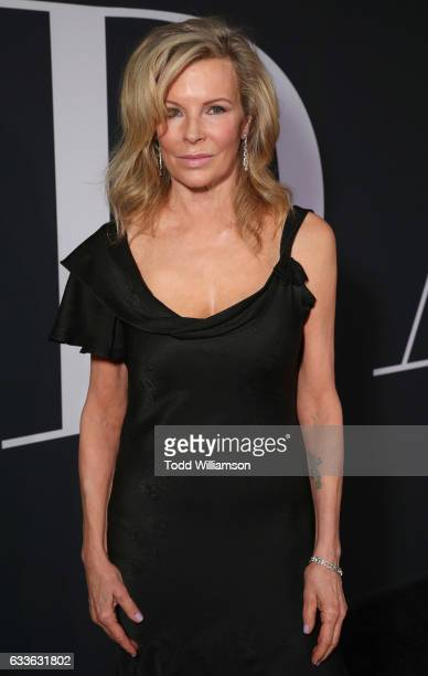 Kim Basinger attends the premiere of Universal Pictures' 'Fifty Shades Darker' at The Theatre at Ace Hotel on February 2 2017 in Los Angeles...