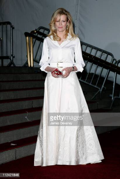 Kim Basinger during 'AngloMania' Costume Institute Gala at The Metropolitan Museum of Art Departures Celebrating 'AngloMania Tradition and...