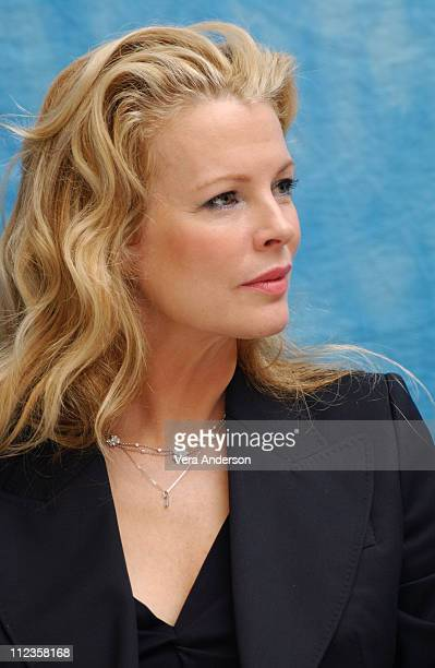 Kim Basinger during 'Cellular' Press Conference with Kim Basinger and Chris Evans at Loew's Santa Monica in Santa Monica United States