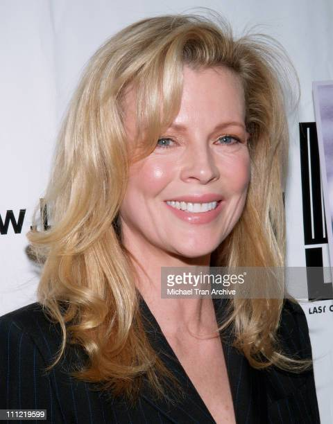 Kim Basinger during 'Dealing Dogs' Los Angeles Premiere Red Carpet at Paramount Theater at Paramount Studios in Hollywood California United States