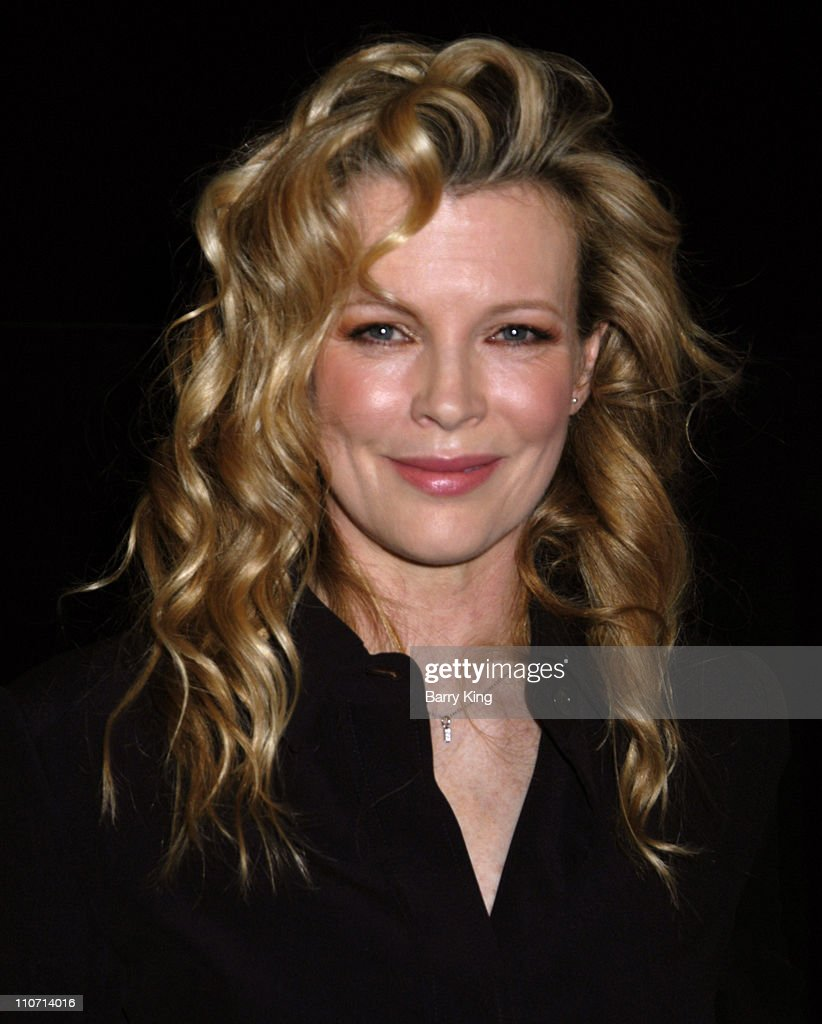 Kim Basinger during Kim Basinger Appearance at American Cinematheque ...