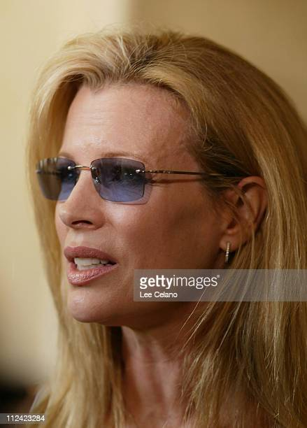 Kim Basinger during 'The Door in the Floor' Premiere Cocktail Reception at Restaurant NU in Santa Barbara California United States