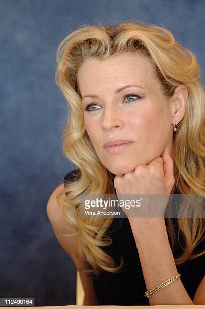 Kim Basinger during 'The Mermaid Chair' Press Conference with Kim Basinger at Beverly Hills Hotel in Beverly Hills California United States