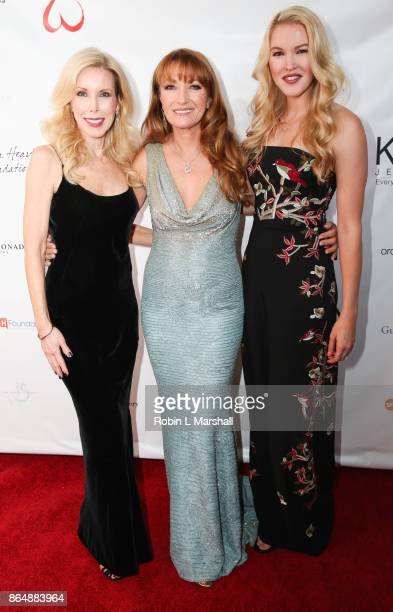 Kim Campbell Actress /Philanthropist Jane Seymour and Ashlet Campbell attend the 2017 Open Hearts Gala at SLS Hotel on October 21 2017 in Beverly...