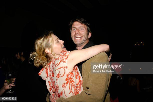 Kim Campbell and Andrew Heckler attend Nicolas Berggruen Dinner at Chateau Marmont on February 21 2007 in Hollywood CA