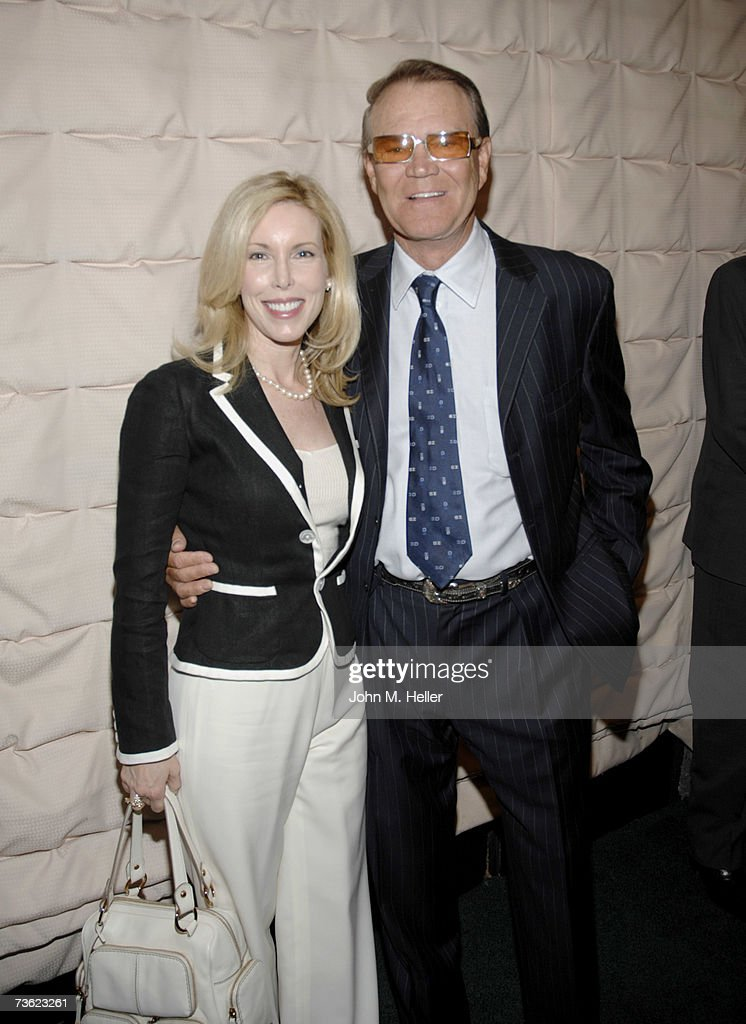 Kim Campbell and Glen Campbell attend the Pacific Pioneer Broadcasters Luncheon honoring Glen Campbell for his 45 years in show business at the Sportsman's Lodge on March 16, 2007 in Studio City, California.