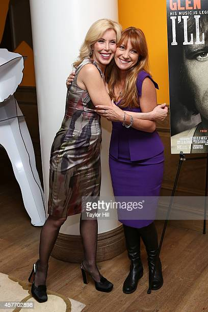 Kim Campbell and Jane Seymour attend the 'Glen CampbellI'll Be Me' New York Premiere at Crosby Street Hotel on October 22 2014 in New York City